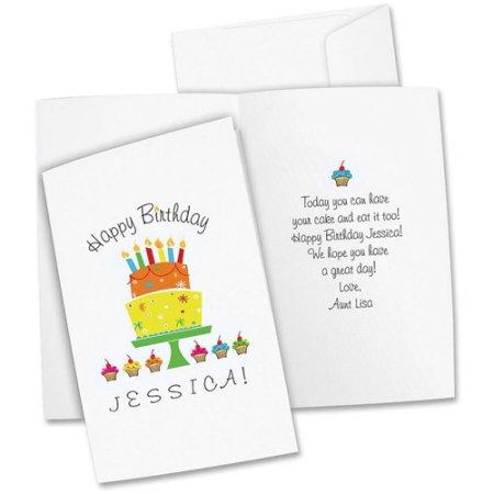 Avery half fold greeting cards avery half fold greeting cards inkjet 5 12 x 8 12 matte white 20box wenvelopes m4hsunfo